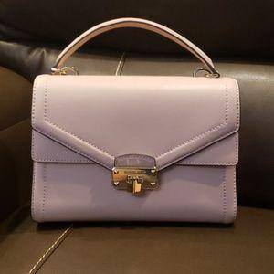 "Brand new ""Kinsley"" Michael Kors leather satchel"